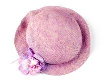 帽子妇女的 免版税库存照片