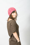 帽子废弃物红色 免版税库存图片