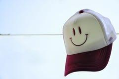 帽子微笑 库存照片
