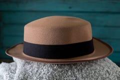帽子时装设计师 免版税库存图片
