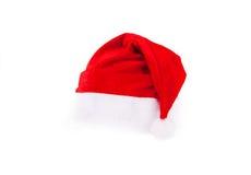 帽子查出圣诞老人 库存图片