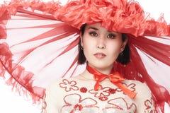 帽子模型红色 免版税库存图片