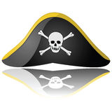 帽子海盗 库存图片