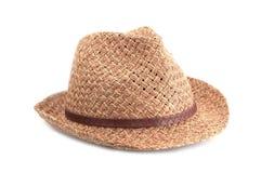 帽子秸杆夏天 免版税库存照片
