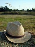 帽子秸杆 图库摄影