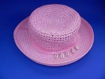 帽子粉红色 免版税图库摄影