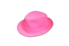 帽子粉红色 免版税库存图片