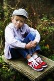 帽子红色 免版税库存图片