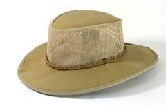帽子绒面革 库存图片