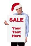 帽子藏品人圣诞老人符号白色 库存照片