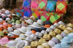 帽子销售额 免版税库存照片