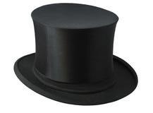 帽子顶层 库存照片