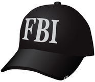 帽子FBI 免版税库存照片