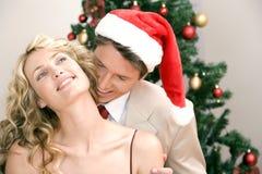 帽子s圣诞老人佩带 库存照片
