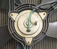幅射器风扇电动机 免版税库存照片