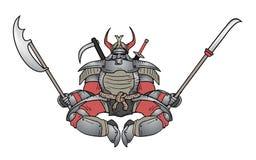 幕府时代的将军ninja 免版税库存图片