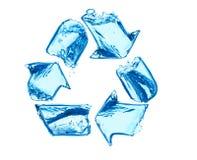 干净回收水 免版税库存图片