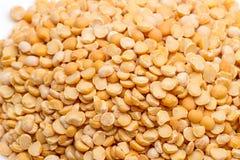 干分裂豌豆背景  免版税库存照片