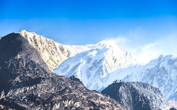 干城章嘉峰是第三座高山 库存图片