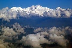 干城章嘉峰,锡金,印度 库存图片