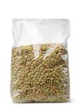 干扁豆塑料小包  库存照片