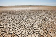干旱和荒地 免版税库存照片