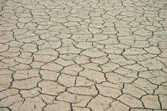 干旱的河床湖 免版税库存图片