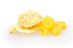 干果,柠檬,菠萝 库存图片
