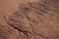 干河床,纳米比亚 免版税图库摄影