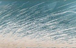 干泥的特写镜头表面抽象样式在肮脏的汽车的构造了背景 免版税库存照片