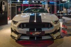 干涉汽车Ford Mustang谢尔比GT 350, 2016年 免版税库存图片