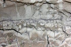 干燥含沙土地背景 库存图片