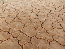 干燥和破裂的地面 图库摄影