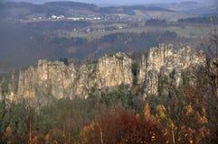干燥岩石 免版税图库摄影