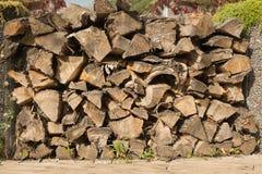 干燥木柴背景  免版税库存图片