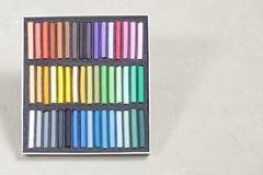 干燥柔和的淡色彩集 免版税库存图片