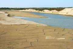 干燥河 免版税库存照片