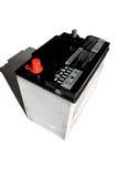干燥电池汽车的电池 免版税库存照片