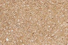 干燥石渣纹理 免版税库存照片