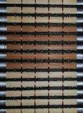 干燥结构树柳条制品 库存照片