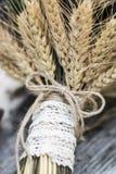 干燥花婚礼花束  图库摄影