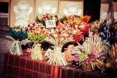 干燥雏菊花束在扎科帕内  库存照片