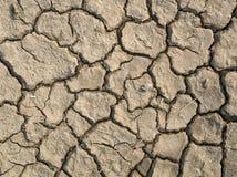干燥,破裂的地球照片  库存图片