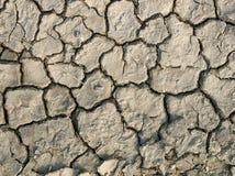 干燥,破裂的地球照片  图库摄影