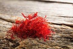干番红花堆 库存图片