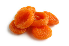 干的杏子 免版税库存图片