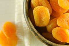 干的杏子 图库摄影