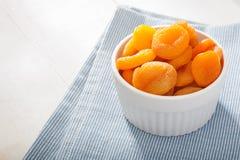干的杏子 库存照片