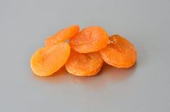 干的杏子 免版税库存照片