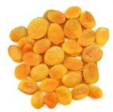 干的杏子 免版税图库摄影